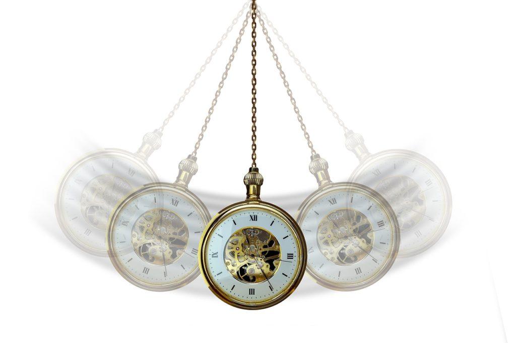 שעון זז להיפנוזה